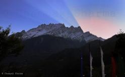 Sunrise, Lachung
